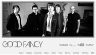 Official site of music band Good Fancy